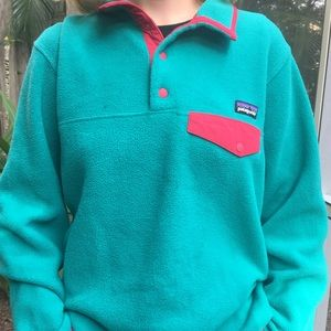 Vintage Patagonia Fleece Pull Over Synchilla